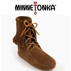 🌺Minnetonka tramper boots!